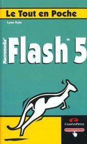 Flash 5. Macromedia - Intérieur - Format classique