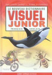 Le Nouveau Dictionnaire Visuel Junior ; Francais-Anglais - Intérieur - Format classique