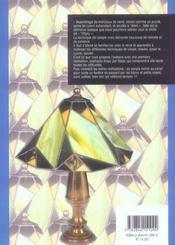 Le vitrail ; ma découverte de Tiffany - 4ème de couverture - Format classique