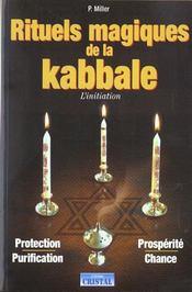 Rituels magiques de la kabbale - Intérieur - Format classique