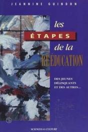 Etapes de la reeducation - Couverture - Format classique