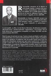 Histoire du togo t.1 - 4ème de couverture - Format classique