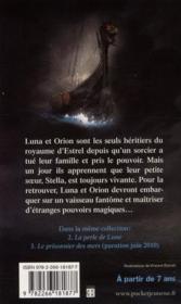 Fantastica t.1 ; le vaisseau fantôme - 4ème de couverture - Format classique