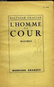 L Homme De Cour. - Couverture - Format classique