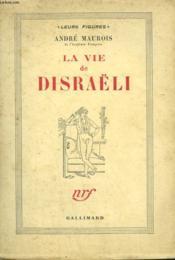 La Vie De Disraëli. - Couverture - Format classique
