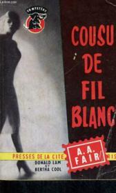 Cousu De Fil Blanc - Couverture - Format classique