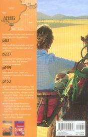 Canary islands - 4ème de couverture - Format classique