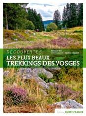 Découvertes ; les plus beaux trekkings des Vosges - Couverture - Format classique