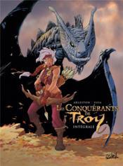 Les conquérants de Troy ; INTEGRALE T.1 A T.4 - Couverture - Format classique