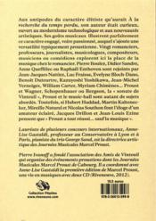 Marcel Proust, une vie en musiques - 4ème de couverture - Format classique