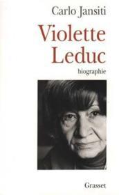 Violette Leduc - Couverture - Format classique