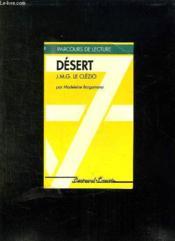 Desert - Parcours De Lecture - Couverture - Format classique
