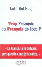 Trop français ou français de trop ? - Intérieur - Format classique