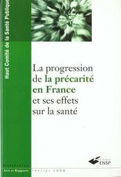 La Progression De La Precarite En France Et Ses Effets Sur La Sante - Intérieur - Format classique
