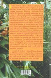 Délire des tropiques - 4ème de couverture - Format classique
