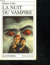 La Nuit Du Vampire Serie Maxime 3 - Couverture - Format classique