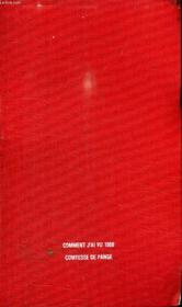 Comment J Ai Vu 1900. - Couverture - Format classique
