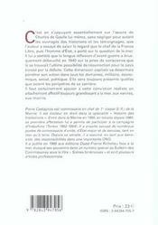 Charles de gaulle face a la mer - 4ème de couverture - Format classique