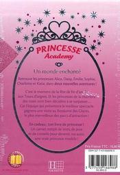 Coffret princesse academy ; un monde enchanté - 4ème de couverture - Format classique