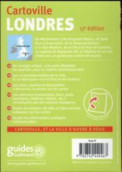 Londres - 4ème de couverture - Format classique