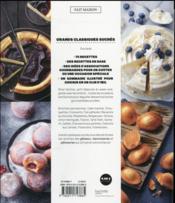 Grands classiques sucrés - 4ème de couverture - Format classique
