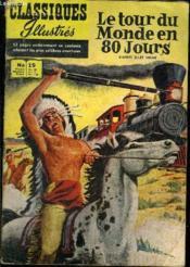 Classiques Illustrés - n°19 - Le tour du monde en 80 jours - Couverture - Format classique