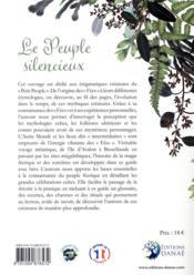 Le peuple silencieux ; guide de la magie féerique dans les traditions et folklores celtiques - 4ème de couverture - Format classique