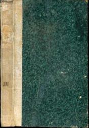 L'ami des moeurs, de l'état et de la religion - tome 3. - Couverture - Format classique