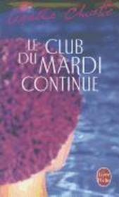 Le club du mardi continue - Couverture - Format classique
