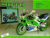 Rmt Hs 6.2 Kawasaki 750 Stinger(89/90) Zxr 750 91/95 - Couverture - Format classique