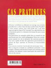 Initiation A Excel 2002 - 4ème de couverture - Format classique