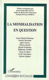 La mondialisation en question - Intérieur - Format classique