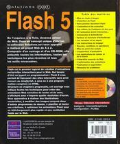 Solutions.Net Flash 5 - 4ème de couverture - Format classique