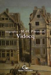 Vidocq - Couverture - Format classique