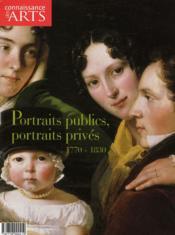 Connaissance Des Arts N.301 ; Portraits Publics, Portraits Privés, 1770-1830 - Couverture - Format classique