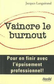Vaincre Le Burnout - Intérieur - Format classique