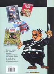 L'Agent 212 Pirate T.1; 24 Heures Sur 24 - 4ème de couverture - Format classique