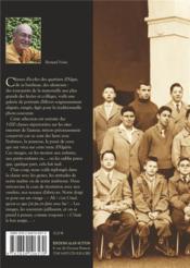 Alger ; classes et écoliers - 4ème de couverture - Format classique