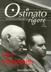 OSTINATO RIGORE N.6/7 ; Paul Hindemith - Couverture - Format classique