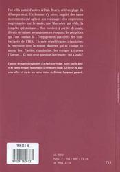 Le Soldat Perdu - 4ème de couverture - Format classique
