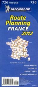 Grands itinéraires France ; route planning France (édition 2012) - 4ème de couverture - Format classique
