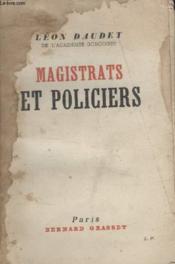 Magistrats Et Policiers. - Couverture - Format classique