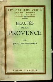 Beautes De La Provence. - Couverture - Format classique