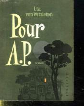 Pour A . P. - Couverture - Format classique