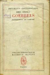Goebbels, porte-parole du nazisme. - Couverture - Format classique