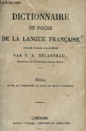 Dictionnaire De Poche De La Langue Francaise - Couverture - Format classique