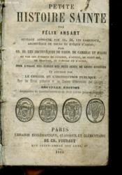 Petite Histoire Sainte - Couverture - Format classique