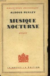 Musique Nocturne - Couverture - Format classique