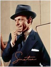 Sinatra (with a print) - Couverture - Format classique