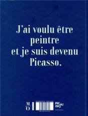 Picasso ; bleu et rose - 4ème de couverture - Format classique